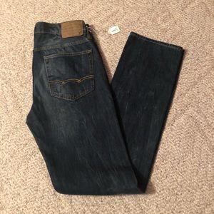 American Eagle Slim Straight Jeans 32 x 36 2818